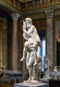 Gianlorenzo Bernini's Aeneas and Anchises in the Galleria Borghese