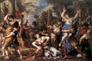 Pietro da Cortona, Abduction of the Sabine Women, in the Capitoline Museums