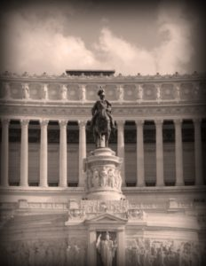 Central portion of the Victor Emmanuel II monument