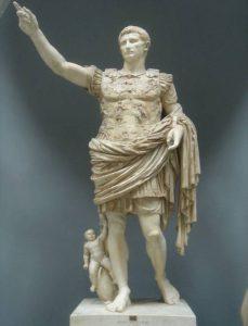 Statue of Augustus Prima Porta