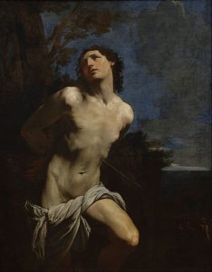 Painting of St. Sebastian by Guido Reni