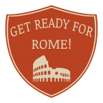 GET READY FOR ROME! Logo
