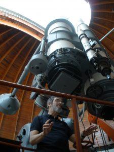 The Vatican telescope at Castelgandolfo