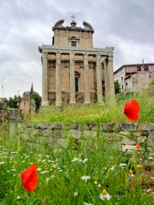 Temple of the Divine Faustina and Antonius Pius