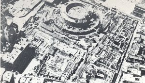 Demolitions to create the Piazza of Augustus the Emperor
